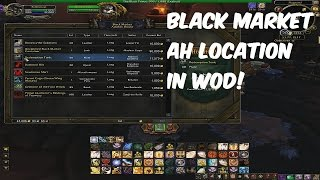 WoW WoD: Black Market House location, Rare Mounts, Gear and other items