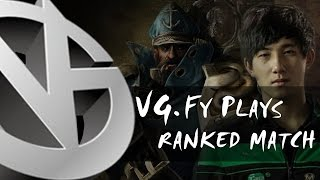 [Dota 2 POV] VG.Fy Plays Kunkka Ranked Match 6.84