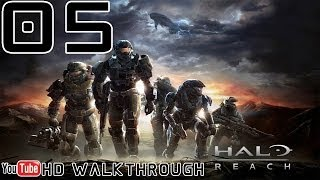 Halo Reach Walkthrough - Mission 5 (Long Night of Solace) HD 1080p Xbox360 No Commentary
