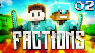 Minecraft: Factions! Ep. 2 - First Raid, Key Giveaway!
