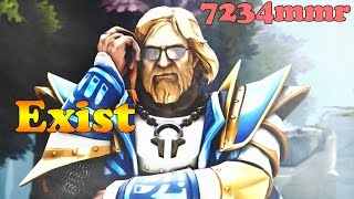 Dota 2 - Exist 7234 MMR PLAYS OMNIKNIGHT OP vol 1# - Ranked Match