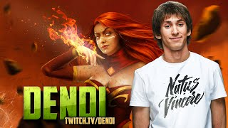Dota 2 Stream: Na`Vi Dendi - Lina (Gameplay & Commentary)