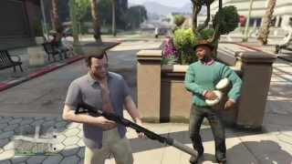 GTA 5 Kills Gun Mods, Silencer, Beach, Police, First Person, Fun/Brutal Kill