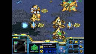 Starcraft: Brood War - Protoss Campaign: Mission 2 (Dunes of Shakuras) [WALKTHROUGH]