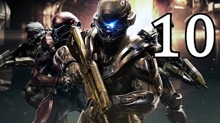 Halo 5: Guardians Gameplay Walkthrough Part 10 Mission 10 No Commentary (Enemy Lines)