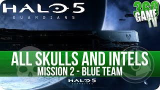 Halo 5 Guardians All Skull and Intel Locations Mission 2 Blue Team - All Collectibles Guide Part 2