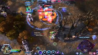 Heroes of the Storm - 5 man Kael'thas, Sylvanas, E.T.C ultimates - Wombo Combo
