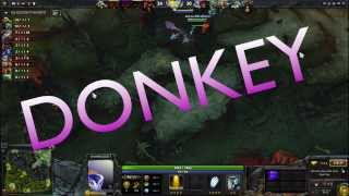 Dota 2 OMNIKNIGHT does the DONKEY TRAIN