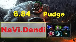 NaVi.Dendi plays Pudge (Vol.14) | Dota 2 6.84