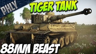BATTLE OF KURSK! TIGER OWNAGE! War Thunder Tanks Gameplay