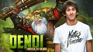 Dota 2 Stream: Na`Vi Dendi - Sniper (Gameplay & Commentary)
