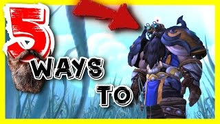 |- Top 5 Ways To Dwarf -| Warlords of Draenor Race Spotlight.