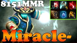 Dota 2 - Miracle- 8151MMR TOP 1 MMR in the World Plays Storm Spirit vol 7 - Ranked Match Gameplay