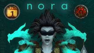 World of Warcraft - Nora - Level 90 Undead WW Monk PvP
