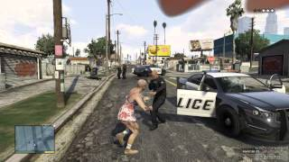 Gta 5 - Grove Street Knife Fighting