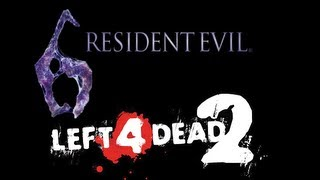 Left 4 Dead 2 in Resident Evil 6 - No Mercy - Ellis - New DLC