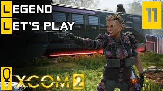 XCOM 2 - Part 11 - Raid The Advent Train - Let's Play - XCOM 2 Gameplay [Legend Ironman]