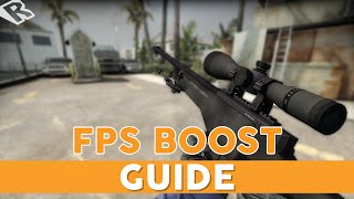 How to Boost FPS in CSGO