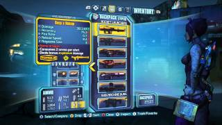 Borderlands 2 - Legendary Submachine Guns