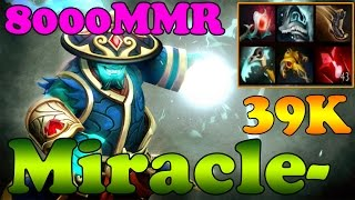 Dota 2 - Miracle- 8000 MMR Plays Storm Spirit vol 10 - Ranked Match Gameplay