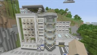 Minecraft xbox Epic Structures: Police Department