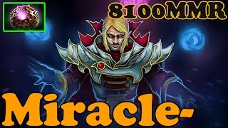 Dota 2 - Miracle- 8100 MMR Plays Invoker vol 16# - Ranked Match Gameplay