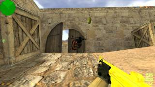 Counter Strike 1.6 Gold Guns (Обзор)
