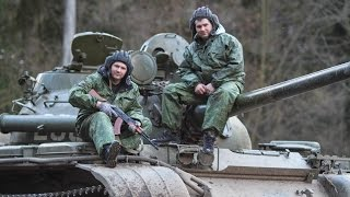 Покатушки на Танке Т55 | Riding on the tank T55