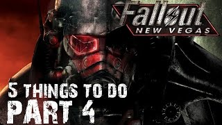 5 Things to do in Fallout New Vegas Part 4- Queens, Aliens, Space, Hooligans, Molten