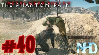 Let's Play Metal Gear Solid 5 The Phantom Pain (pt40) Sniper Soldier Extraction