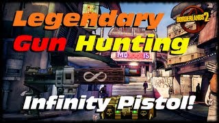 Borderlands 2 Legendary Gun Guide Infinity Pistol - Doc Mercy and The Infinite Ammo Pistol!