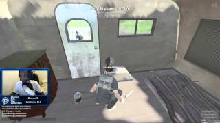 H1Z1 - Combat knife vs 2 guns