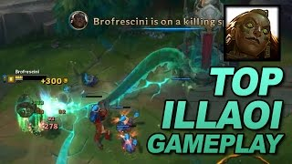 ILLAOI GAMEPLAY TOP: League of Legends