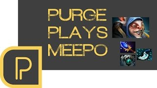 Dota 2 Purge plays Meepo - Replay