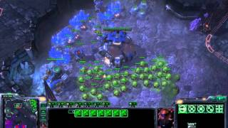 Zerg with Endless Gas Supply - TvZ - Starcraft 2