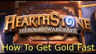Hearthstone How To Get Gold Fast (500+ Gold In One Day)