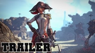Borderlands 2 Captain Scarlett & Her Pirate's Booty DLC Official Trailer
