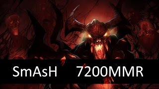 SmAsH Shadow Fiend 7200 MMR | Dota 2 gameplay