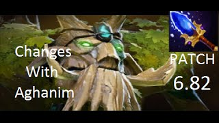 Dota 2 Patch - Treant Protector + Aghanim's Scepter