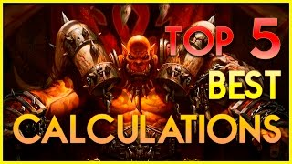 Hearthstone Top 5 Calculations #2! - Best Plays Funny Moments - Top Deck