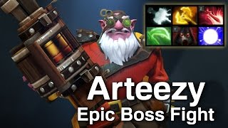 Arteezy Epic Boss Fight Dota 2
