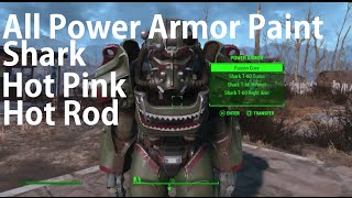 Fallout 4 All Hot Rodder Magazine Locations Shark Paint, Hot Pink, Hot Rod Flames
