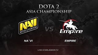 Na`Vi vs Empire, DAC 2015 EU Qualifiers, LB Round 2 Game 1