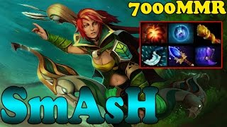 Dota 2 - SmAsH 7000 MMR Plays Windranger Vol 1 - Ranked Match Gameplay!