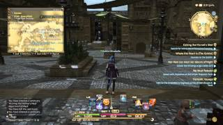 Final Fantasy XIV Heavensward PS4 Gameplay (part 2) Первые бои и боссы