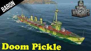 Death Before Dishonor!  World of Warships Rare Ship! - Doom Pickle Iwaki Alpha