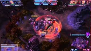 Heroes of the storm-epic boss capture/Герои шторма захват босса