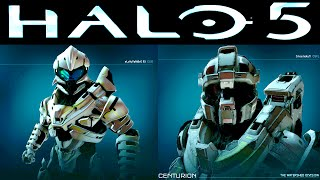 ALL Halo 5 Beta ARMOR Customization (All Halo 5 Unlocks) SR38