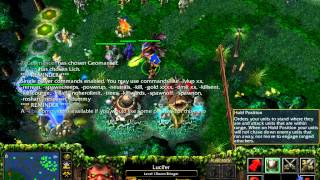 Cheats on LAN game in WarCraft III(Frozen Throne)