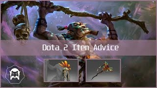 Dota 2 Witch Doctor Half-Mix Set For 2$ w/ Witch Staff